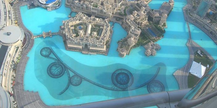 Fantanile din Dubai - un obiectiv turistic important