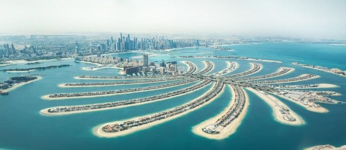 Palm Jumeirah - o atractie turistica importanta in Dubai